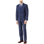 Tommy Hilfiger Mens Check Stretch Formal Tuxedo
