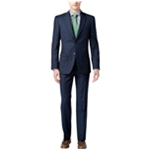 Tommy Hilfiger Mens Wool Blend Two Button Formal Suit