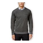 Ryan Seacrest Distinction Mens Pocket Crew Pullover Sweater