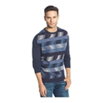 Weatherproof Mens Vintage Box Print Pullover Sweater