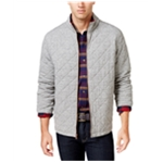 Weatherproof Mens Vintage Plaid Lined Quilted Jacket