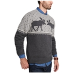 Weatherproof Mens Moose Pullover Sweater