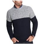 Weatherproof Mens Colorblocked Pullover Sweater