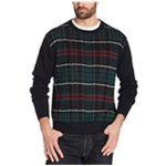 Weatherproof Mens Holiday Tartan Pullover Sweater