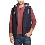 Weatherproof Mens Hooded Quilted Vest