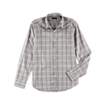 Theory Mens Plaid Button Up Shirt
