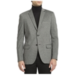 Theory Mens Heathered Ponte Sports Two Button Blazer Jacket