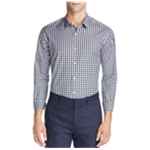 Theory Mens Garber Check Button Up Shirt