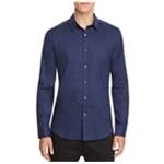 Theory Mens Zack Button Up Shirt