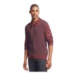 Geoffrey Beene Mens Diamond-Print Pullover Sweater