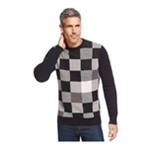 Geoffrey Beene Mens Patches Pullover Sweater