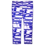 Ideology Girls Cloud-Stripe Casual Leggings