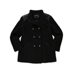 Apt. 9 Womens Boucle' Double Breasted Military Jacket