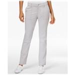 G.H. Bass & Co. Womens Seam-Detail Casual Trousers