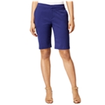 G.H. Bass & Co. Womens Jacquard Casual Bermuda Shorts