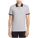 Theory Mens Contrast Rugby Polo Shirt