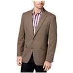 Tommy Hilfiger Mens Stretch Two Button Blazer Jacket