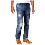 Heritage Mens Zipper Regular Fit Jeans