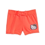 evy of California Girls Hello Kitty Pom-Pom Casual Walking Shorts