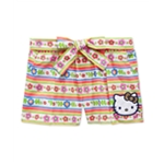evy of California Girls Hello Kitty World Casual Walking Shorts