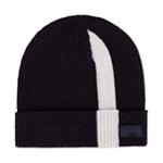 Calvin Klein Mens Stripe Ribbed Beanie Hat