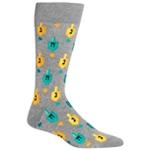 Hot Sox Mens Dreidel Midweight Socks