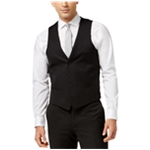 bar III Mens Pinpoint Dress Four Button Vest