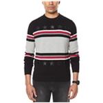 Sean John Mens Stripe Pullover Sweater