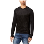 Sean John Mens Faux Suede Pullover Sweater