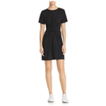 Theory Womens Knotted A-line Dress