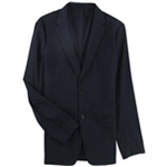 Theory Mens Solid Stretch Two Button Blazer Jacket