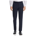 Theory Mens Deconstructed Stretch Solid Dress Pants Slacks