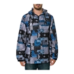 Crooks & Castles Mens The Luxe Bandit In Bandana Anorak Jacket