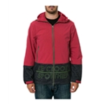 Crooks & Castles Mens The Sportthief Anorak Jacket
