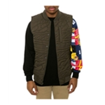 Crooks & Castles Mens The Chain Lux Quilted Vest