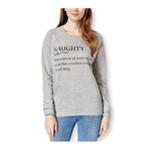 Pretty Rebellious Clothing Womens Naughty Crew Sweatshirt