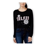 Pretty Rebellious Clothing Womens Xmas Selfie Sweatshirt