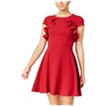 B. Darlin Womens Ruffled A-line Dress