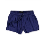 Rewash Womens Pull-On Solid Casual Walking Shorts