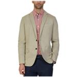 Nautica Mens Twill Two Button Blazer Jacket