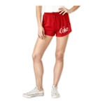 Hybrid Womens Coke Drawstring Casual Mini Shorts