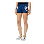 Hybrid Womens Snoopy Americana Casual Mini Shorts
