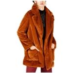 Sage The Label Womens Faux Fur Coat