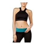 energie Womens Delany Contrast Mesh-Back Sports Bra