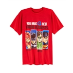 DC Comics Boys 'You Have 4 New Friend Requests' Graphic T-Shirt