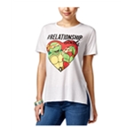Nickelodeon Womens Relationship Goals Graphic T-Shirt