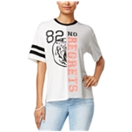 love tribe Womens No Regrets Graphic T-Shirt
