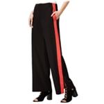 Shift Womens Colorblock Casual Wide Leg Pants