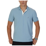 Nautica Mens Lined Rugby Polo Shirt