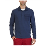 Nautica Mens Knit Rugby Polo Shirt
